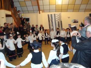 Taniec w wykonaniu uczniów