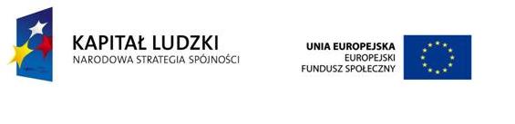 Kapitał Ludzki - Europejski Fundusz Społeczny