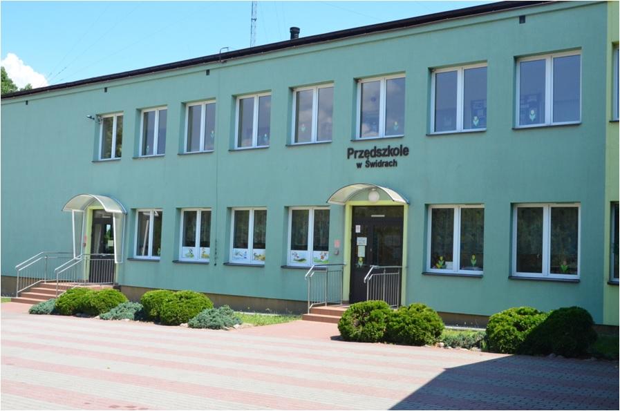 Przedszkole w Świdrach - 2013 r.